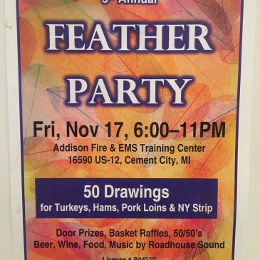 Land & Lake Ladies Club 2017 Feather Party